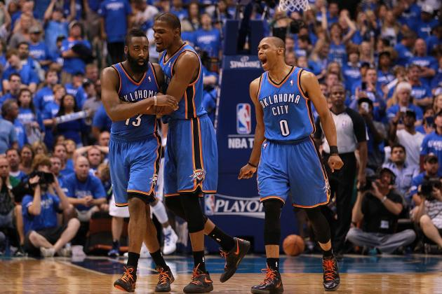 NBA Playoffs 2012: Oklahoma City Thunder Establishing Their Own Big 3
