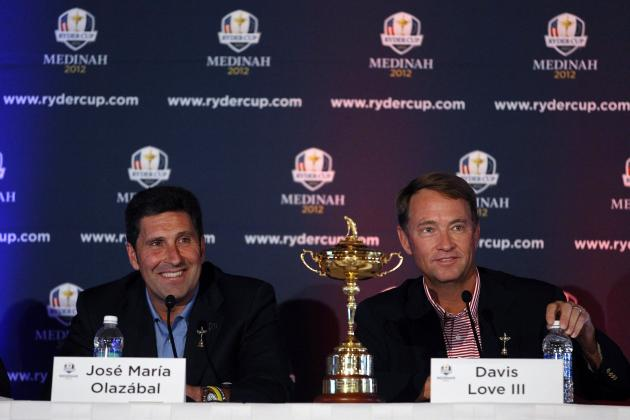 2012 Ryder Cup: Euros Strong Again but Questions Persist for Captain Love