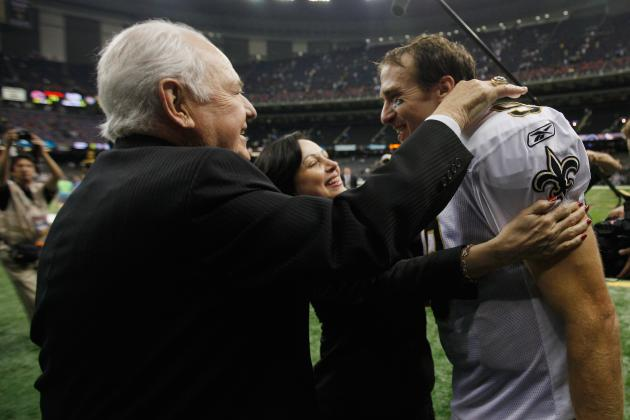 NFC South Morning Jog: Tom Benson Assured Fans Drew Brees Deal Will Get Done