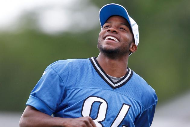 Ryan Broyles Takes Part in OTAs, Titus Young Is Barred After Fight with Teammate