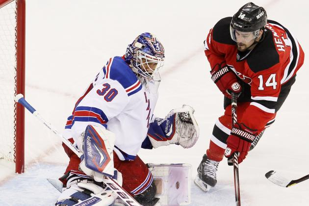 New Jersey Devils vs. New York Rangers Game 4: Live Score, Analysis and Reaction