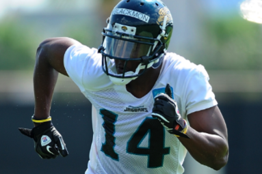 Blackmon and Rest of the Jaguars Offense Drawing Rave Reviews from Teammates