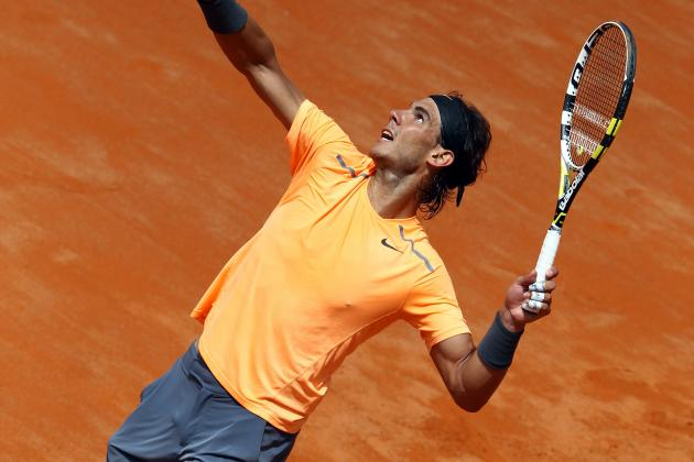Nadal vs. Djokovic: Italian Open Final Shows Rafa-Federer Rivalry Still the Best