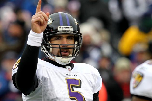 Joe Flacco Excited About New Weapons