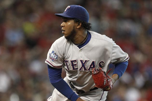 Neftali Feliz: Texas Rangers Pitcher to 15-Day DL with Elbow Injury