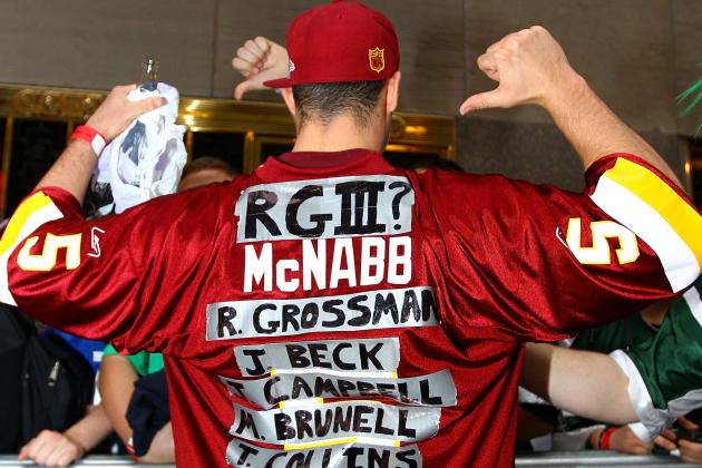 Washington Redskins: What Does the Future Hold for Rex Grossman?