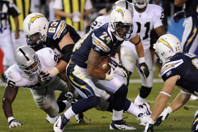 Debate: Over/Under 1,200 Yards for Ryan Mathews in 2012?