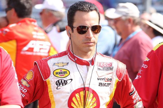 Indy 500 2012: Helio Castroneves Is in Perfect Position to Win Race