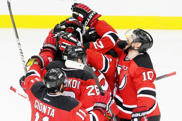 Stanley Cup Playoffs 2012: Devils Knot Matters Once More with 4-1 Win in Game 4