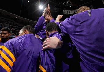 Will the Lakers stick together this offseason, or will they be broken up in a rebuilding effort?