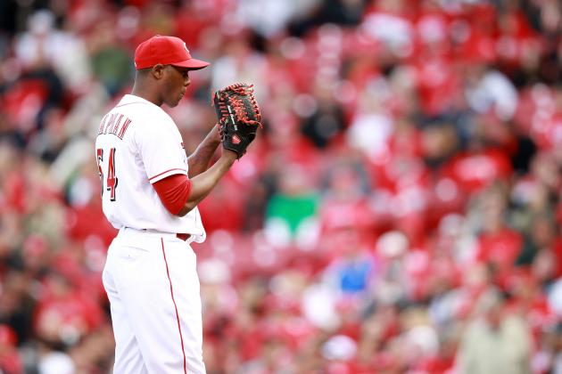 Cincinnati Reds Role Reversals: Mike Leake Gets a Win, Aroldis Chapman Arrested
