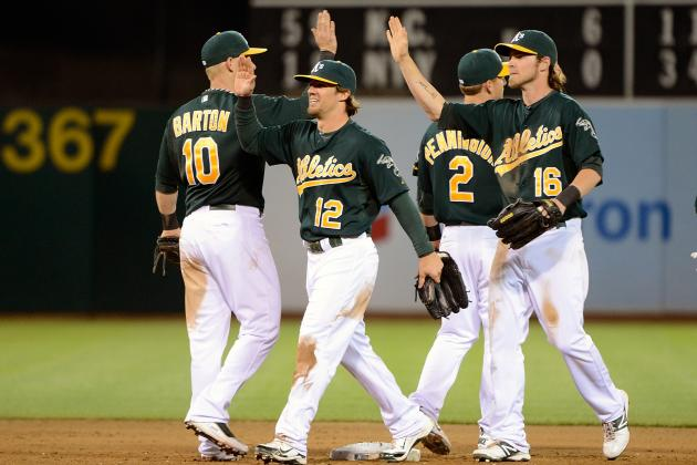 Oakland A's MVP: Who's in the Lead with 2/3's of the Season Left?