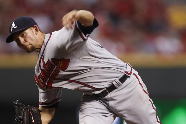 NL Worst of the Night: Braves' Mike Minor Gets Bombed for 4 Homers by Reds