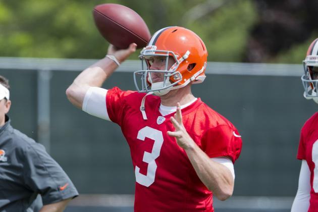 Cleveland Browns: Browns Named Weeden Starting QB, Sort of