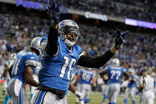 Titus Young: Lions Reportedly Have Not Suspended WR for Louis Delmas Incident