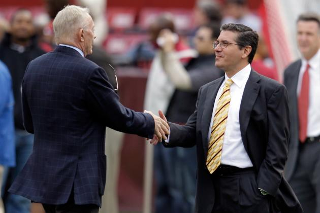 NFL Arbitrator Dismisses Redskins and Cowboys Cap Case