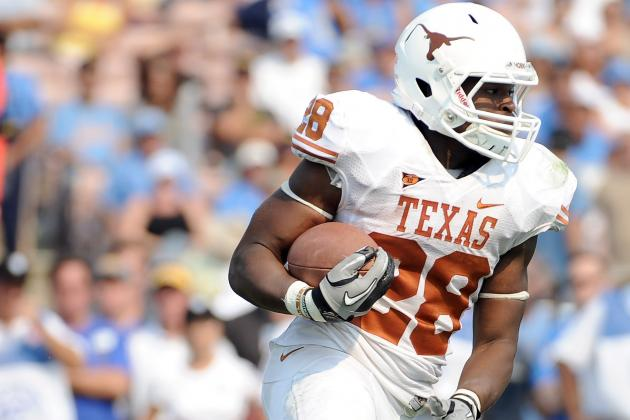 College Football 2012 Top 150 Players: No. 113 Malcolm Brown, Texas RB
