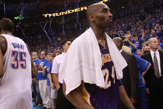 Forecasting Kobe Bryant's NBA Future as Dynasty Crumbles in L.A.