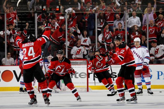 NHL Playoffs: Bryce Salvador Providing Unexpected Offense for New Jersey Devils
