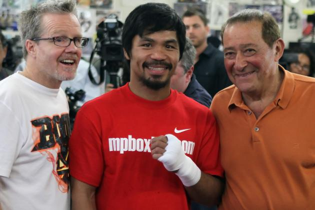 Pacquiao vs. Bradley: Pac-Man, Roach and Arum Sound off on June 9 Bout