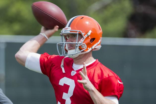 Browns Want Weeden to Start but McCoy Takes First Snaps as No. 1 QB in OTAs