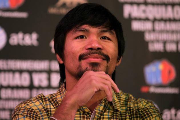 Manny Pacquiao: What Fight Means to Legend's Legacy