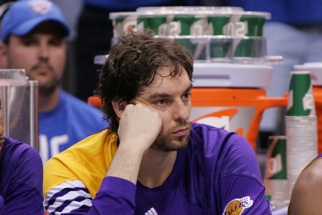 NBA Offseason 2012: The Los Angeles Lakers Must Trade Pau Gasol