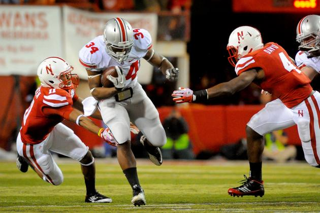 Big Ten Football Top 150 Players: No. 121, Carlos Hyde, Ohio State RB