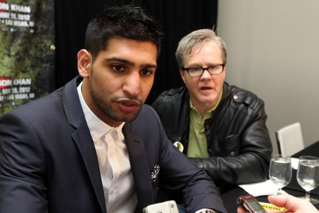 Amir Khan vs. Danny 'Swift' Garcia Fight Is Reportedly Done Deal