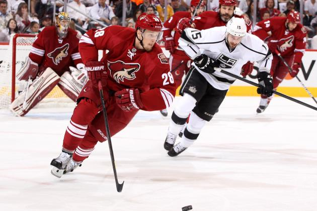 L.A. Kingsvs. Phoenix Coyotes Game 5: Live Score, Analysis and Reaction
