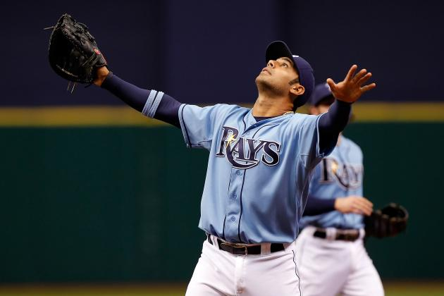 Carlos Pena Homers, Drives in 3 out of Leadoff Spot in Tampa Bay Rays Win