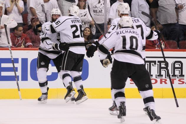 NHL Playoffs 2012: Los Angeles Kings Are Four Wins Away from Cup Glory