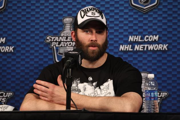 NHL Playoffs 2012: Dustin Penner Silencing Critics with $4.25 Million Goal