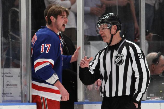 Stanley Cup Playoffs 2012: New York Rangers' Brandon Dubinsky to Play in Game 5?
