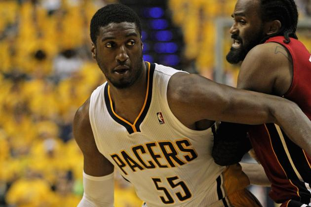 NBA Playoffs 2012: Roy Hibbert Key to Indiana Pacers Reaching Game 7