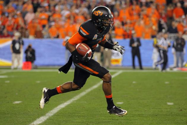College Football 2012 Top 150 Players: No. 112 Justin Gilbert Oklahoma State CB