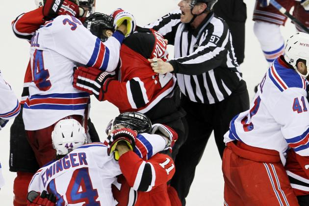New Jersey Devils vs. New York Rangers Game 5: Live Score, Analysis and Reaction
