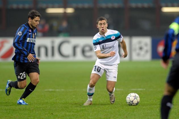 Eden Hazard: Handicapping the Three-Team Race for Belgian Star