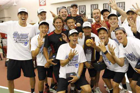 USC Defeats Virginia to Capture 4th Straight NCAA Tennis Title