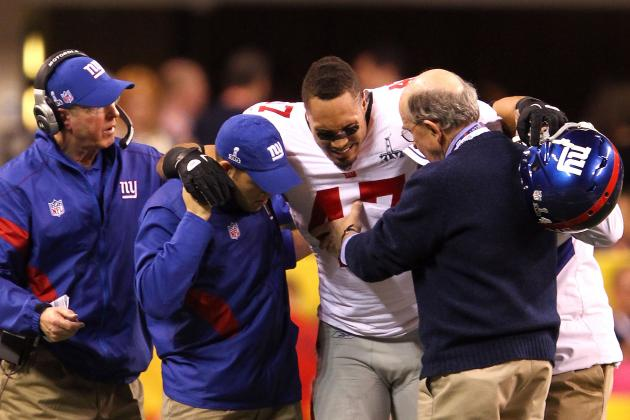 New York Giants Suffer Injury Bug Early This Offseason