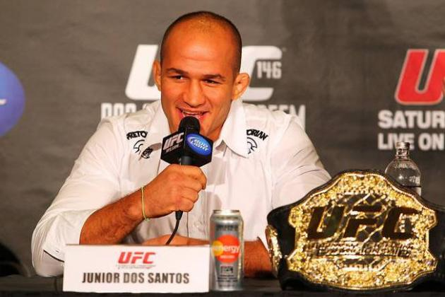 UFC 146: Dos Santos vs. Mir Live Streaming Pre-Fight Press Conference