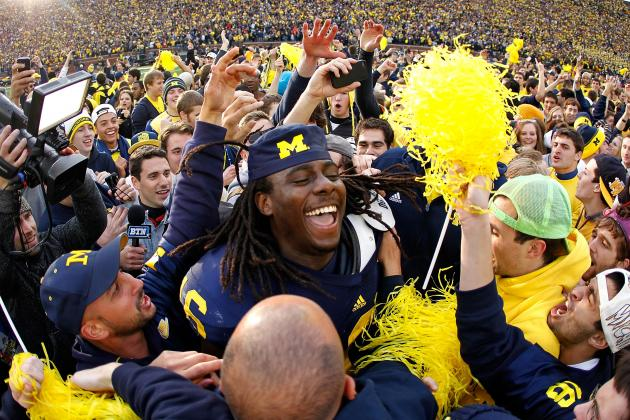 Michigan Wolverines' Denard Robinson Voted Best Big Ten Quarterback
