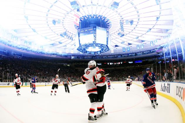 2012 Stanley Cup Playoffs: New Jersey Devils Erase Demons, Take 3-2 Series Lead