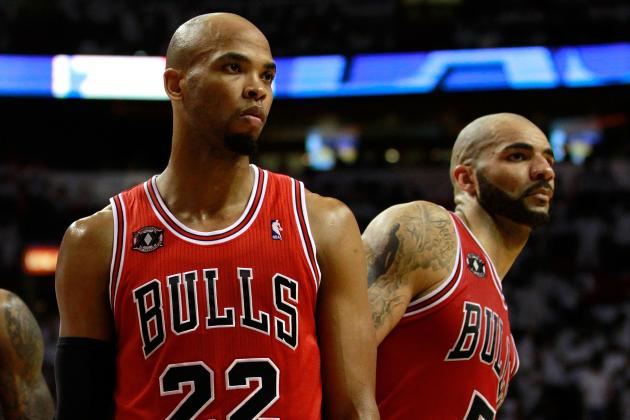Chicago Bulls: Why Taj Gibson Should Start over Carlos Boozer
