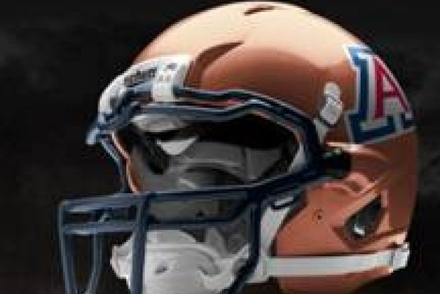 Arizona Will Be Sporting Copper Helmets at Some Point in 2012