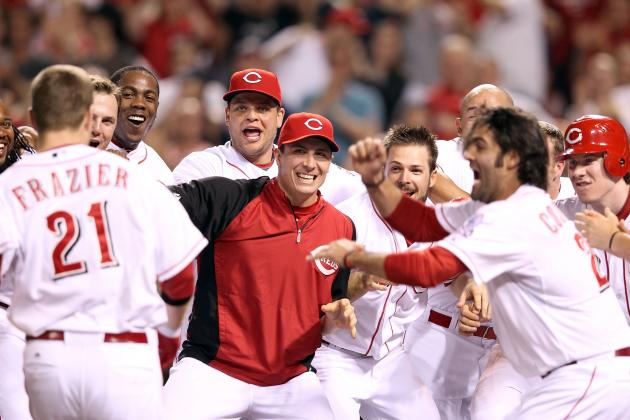 Todd Frazier's Walk-off Home Run Leads Reds to MLB-Leading 5th Straight Win