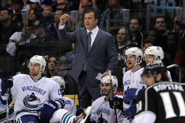 Head Coach Alain Vigneault Signs Contract Extension with Vancouver Canucks