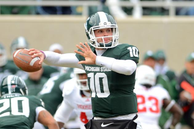 Michigan State's Dan Roushar: QB Andrew Maxwell (knee) Will Be 100% in June