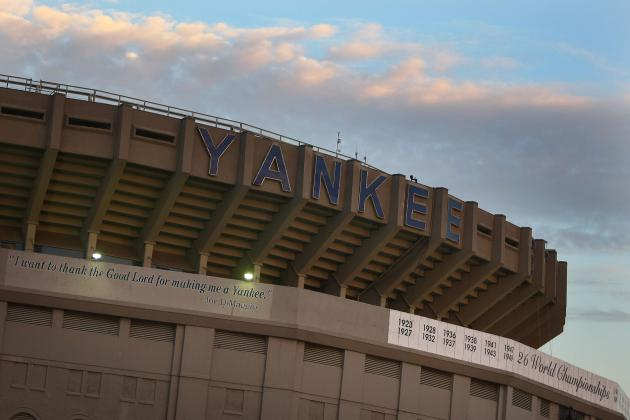 Where's the Spot Where Mickey Mantle's Home Run Almost Left Yankee Stadium?