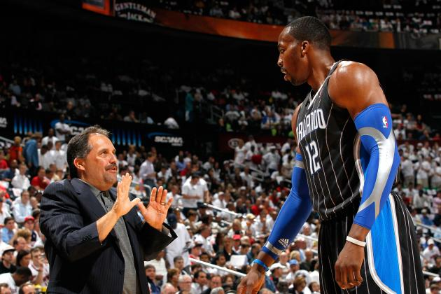 Dwight Howard Continues to Posture, Deny Part in Stan Van Gundy's Firing